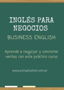 Curso Ingles de negocios comex